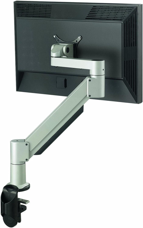 Vogel's PFD 8543 Monitor-Halterung für 25-66 cm (10-26 Zoll) Monitore, drehbar und neigbar, max. 5,6-11 kg, Vesa max. 100 x 100, silber