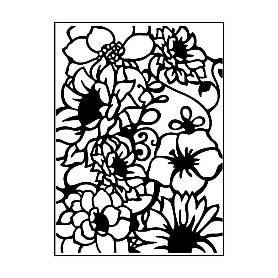 Carabelle Studio AE60010 Embossing Folder - Composition florale