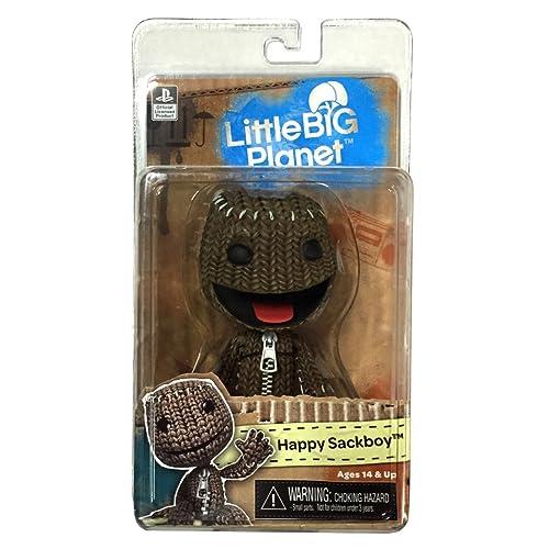 """Little Big Planet Chop Chop Sackboy 6/"""" Plush Toy by Senario"""