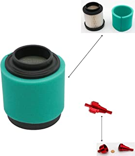 KIPA Air Filter For Polaris Trail Boss 325 330, 2x4 4x4 Magnum Blazer APT 330 332 Quad ATV, Replace OEM # 1253372, With CNC washable Fuel Filter