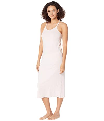 Skin Organic Cotton Calyn Double Strap Chemise (Heather Pink) Women