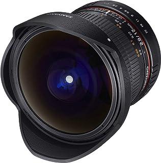 Samyang F1112106101 - Objetivo fotográfico DSLR para Sony E (Distancia Focal Fija 12mm Apertura f/2.8-22 ED AS NCS Ojo de Pez) Negro
