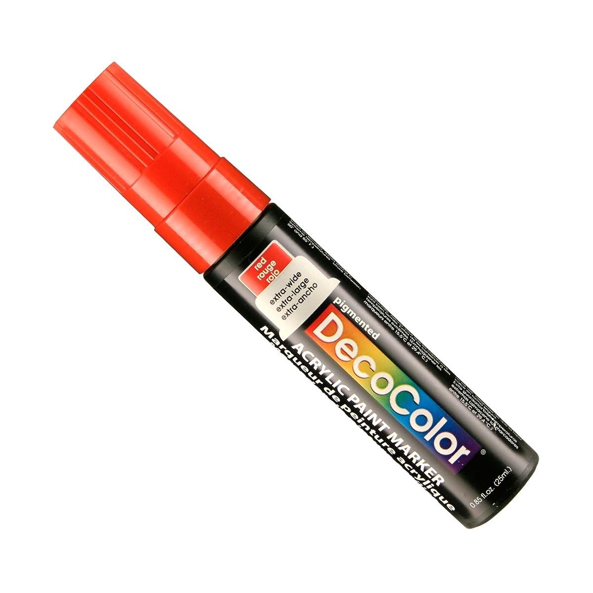 Uchida Of America 15 MM Decocolor Acrylic Marker, Red