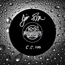 Jim Pappin 2017 Centennial Classic Autographed Puck Toronto Maple Leafs