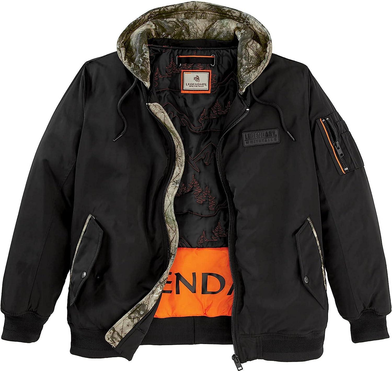 Legendary Whitetails Men's Drop Tine Bomber Jacket