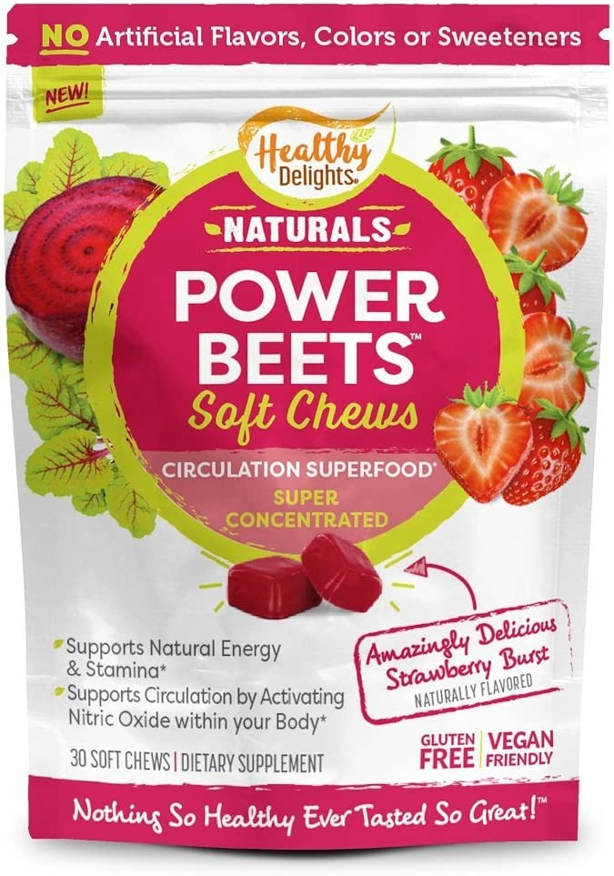Healthy Delights Naturals Power Beets Soft Chews Ranking TOP11 Concent Super Minneapolis Mall