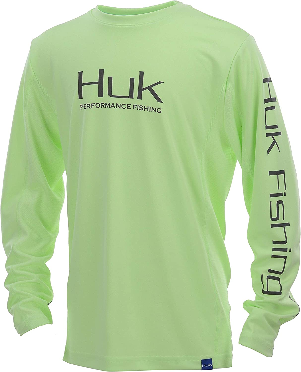 Kids Long Sleeve Performance Fishing Shirt with HUK Unisex-Child Pursuit Camo Vented 30 UPF Sun Protection