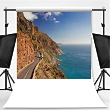 Chapmans Peak Drive Near Cape Town in South Africa Theme Backdrop Photography Background Backdrops,077282,6x10ft