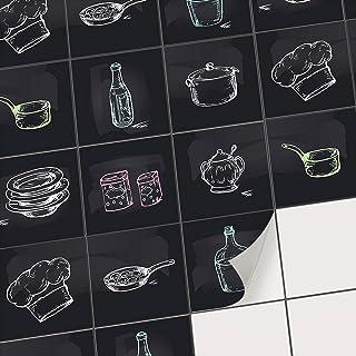 10x10cm 15x15cm 20x20cm 30x30cm Fazeer 10pcs Autocollants De Carreaux Auto-Adh/ésif Splashback /Étanche Autocollants Mosa/ïque 3D Peel Stick Carreaux De Mur DIY Autocollant Pour Salle De Bains Cuisine