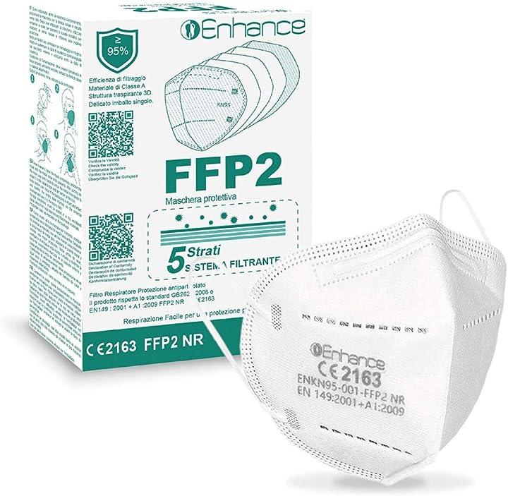 mascherine ffp2 certificate ce - 30 pezzi enhance b08ntfnzrm