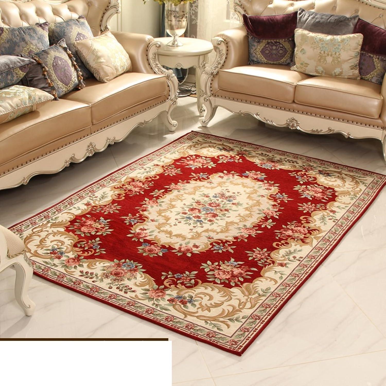 European-Style Floor mats Non-Slip mat Water-Absorbing mats Indoor mat Bathroom Kitchen Bedroom Door mat-B 90x90cm(35x35inch)