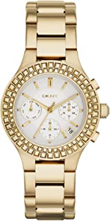 DKNY Women's White Dial Stainless Steel Band Watch - NY2259