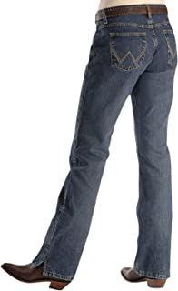 Wrangler womens Cash Mid Rise Boot Cut Ultimate Riding Jean