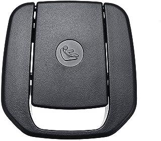 Little Oriental Negro / beige posterior del coche del niño del asiento del gancho de anclaje ISOFIX cubierta cubierta de la correa en forma for BMW F30 F31 Serie 3 F20 F21 F22 F80 F34 M3 52207319686