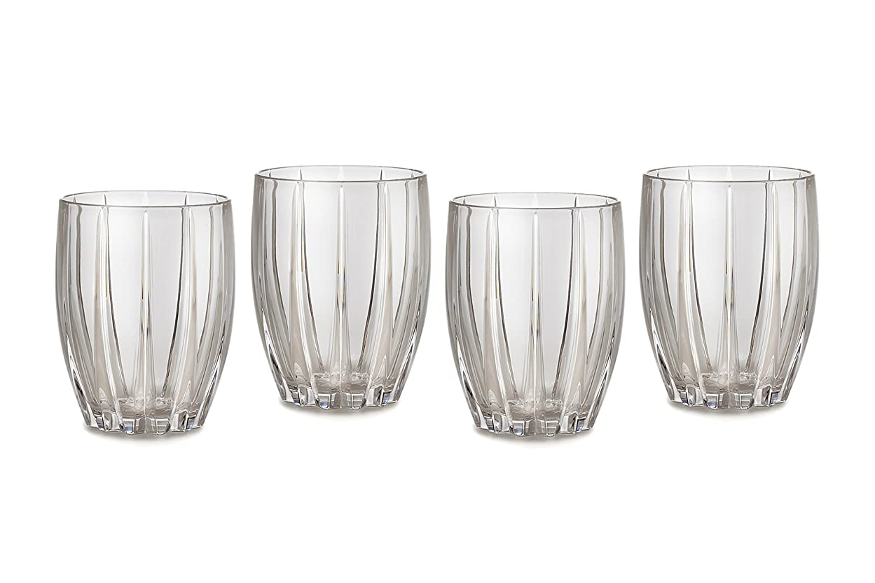 付き添い人オリエント父方のMarquis by Waterford Omega Double Old Fashioned Glasses, Set of 4 by Marquis By Waterford