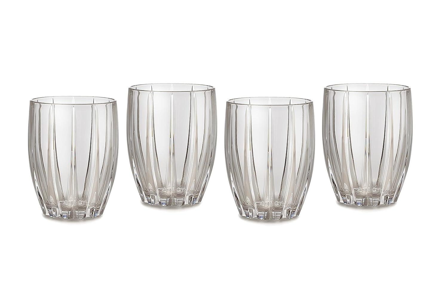 コストポンプ平凡Marquis by Waterford Omega Double Old Fashioned Glasses, Set of 4 by Marquis By Waterford
