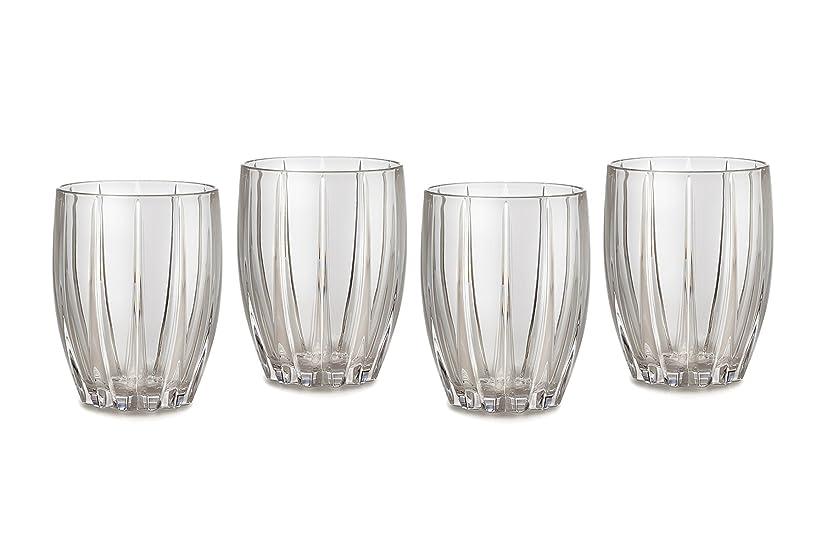 黒高めるガイドラインMarquis by Waterford Omega Double Old Fashioned Glasses, Set of 4 by Marquis By Waterford