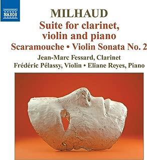 milhaud clarinet sonatina