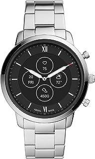 ساعت هوشمند مردانه Fossil Neutra Hybrid HR با نمایش بازخوانی همیشه روشن ، ضربان قلب ، ردیابی فعالیت ، اعلان های تلفن های هوشمند ، پیش نمایش پیام