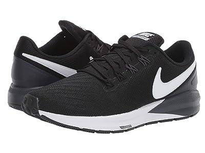 Nike Air Zoom Structure 22 (Black/White/Gridiron) Women