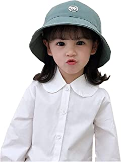 Simple Wind Stepped on The Edge of The Letter Children's Dome Fisherman hat boy Girl Big Along The Sunshade Cap