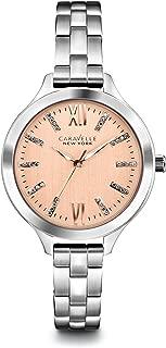 Caravelle New York by Bulova Women's 45L141 Analog Display Japanese Quartz White Watch