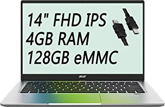 "2021 Flagship Acer Swift 1 Thin and Light Laptop 14"" FHD IPS Display Intel Celeron N4020 4GB RAM 128GB eMMC Intel UHD Grap..."
