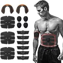 Lixada Spierstimulator 15 stuks EMS-spierstimulator trainingsuitrusting heuptrainer set fitnessapparaten past volledig lic...