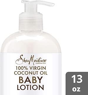 SheaMoisture 100% virgin coconut oil & murumuru baby lotion moisturizer, 13 Fluid Ounce - coolthings.us