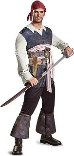 Men's POTC5 Captain Jack Sparrow Classic Adult Costume