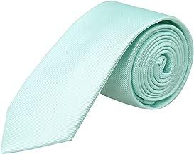 Alizeal Men's Skinny Tie 2.4 inches (6cm width) Casual Neckties