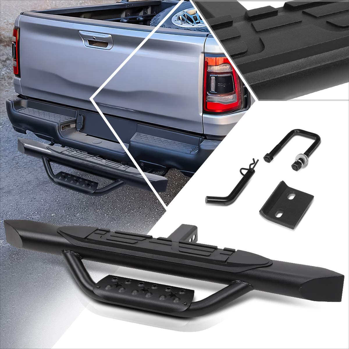 Aluminum New product! New type Oval Trailer Max 77% OFF Towing Hitch Step Fits Tru Inch Receiver 2