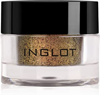 Inglot AMC Pure Pigment Eye Shadow, 122 Brown Gold, 2g