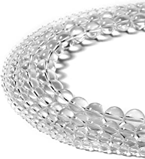 clear round beads