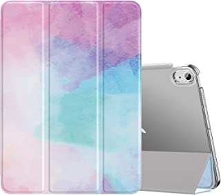 MoKo Case Fit New iPad Air 4th Generation 2020 - iPad Air 4 Case 10.9 inch Slim Lightweight Shell Stand Cover with Translu...