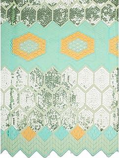 Premier Exclusive Swiss Voile Lace Flower Design Fabric 5 Yards Cotton SU928/_2