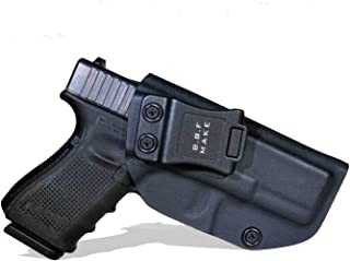 B.B.F Make IWB KYDEX Holster Fit: Glock 19 19X 23 32 45 (Gen 1-5) | Retired Navy Owned Company | Inside Waistband | Adjustable Cant | US KYDEX Made