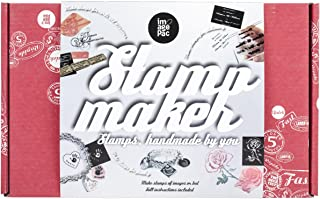 Imagepac Stampmaker Essential Kit - Create Stamps From Photos, Text, Artwork, Lace and Much More with Uv Stamp Maker, Magnetic Clamp, Mask, Consumables, Test Negative, Post Exposure Tray, Cd Tutorial, Brush, Timer, Film