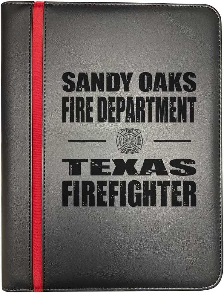 Discount mail order Sandy Oaks Texas Fire Departments Thin Firefighter Line Red Max 70% OFF