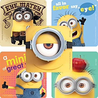 SmileMakers Minions Eyecare Stickers - Prizes 100 per Pack