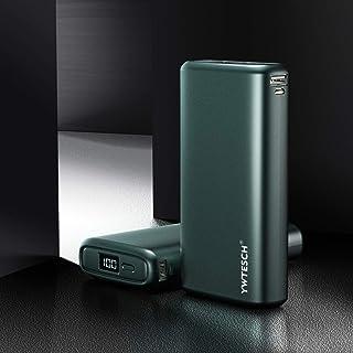 YWTESCH 20000mAh Power Bank, Batería Externa 2 Salidas y 2 Entradas Cargador Portátil con Pantalla Digital LCD Inteligente Compatible con iPhone, Samsung, Huawei, Xiaomi, iPad y más.