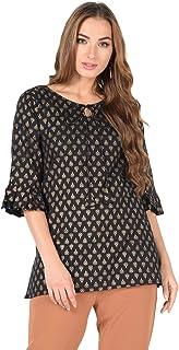 Meera Fab Women's Cotton A-Line Kurta