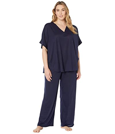 N by Natori Plus Size Congo PJ (Midnight Navy) Women