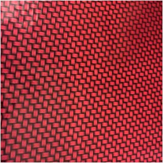 Hydrographics Film - Hydro Dip Film - Hydrographic Film - Water Transfer Printing - Hydro Dipping -Candy Apple Red Carbon Fiber- 1 Meter