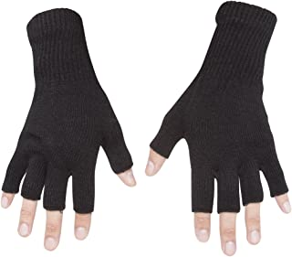 Best Gravity Threads Unisex Warm Half Finger Stretchy Knit Fingerless Gloves Review