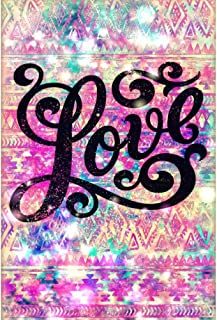 DIY 5D Diamond Painting by Numbers Kits, Quotes Inspirational Word, Love, Full Drill Rhinestones Paint with Diamonds Crystal Diamond Art (Love)