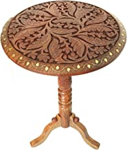 WILLART® Wooden Folding Stool Table Nesting Coffee End Tables Modern Furniture Decor Side Table for Living Room Balcony Ho...