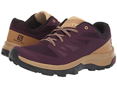 Salomon Outline (Potent Purple/Bistre/Taos Taupe) Women