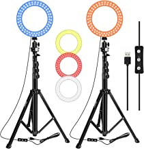 EMART 6.3-inch Video Conference Lighting Kit, LED Ring Light for Zoom Call Meeting/Live...
