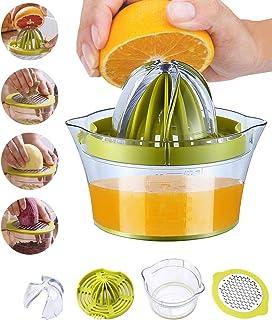 Snowpea Exprimidor Manual Exprimidor de limón Apto para lavavajillas, Exprimidor Multifuncional de Naranja y limón, Exprim...